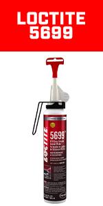 loctite 5699 gasket sealant rtv silicone gray