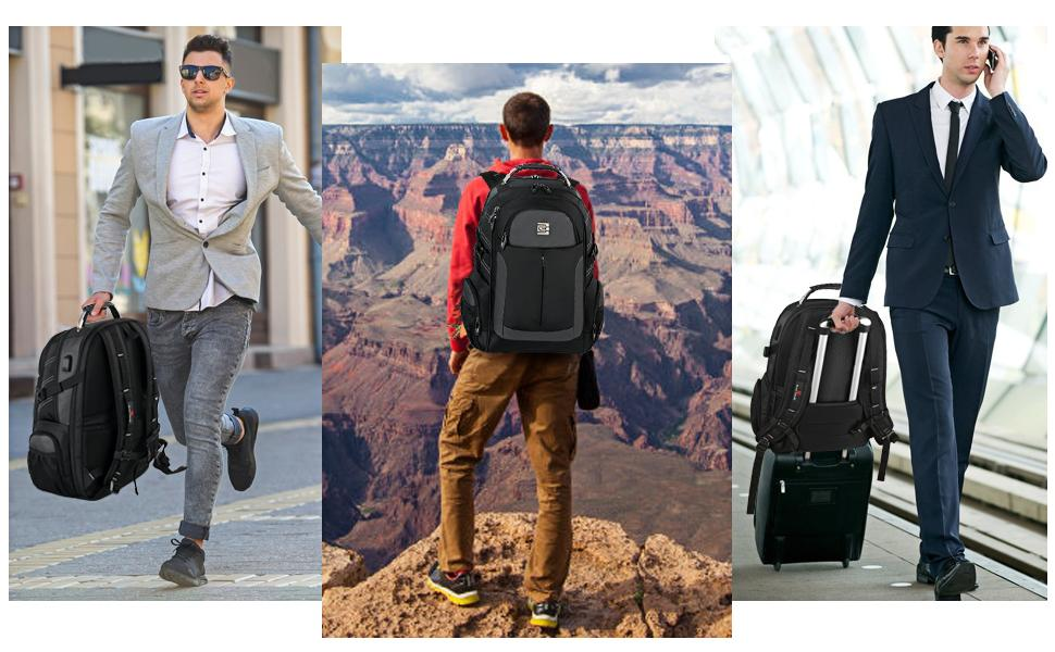 This Stylish backpack for School Travel and Business