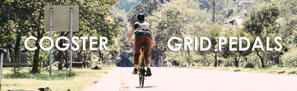 cogster, grid, flat bike pedals, flat pedals, city bike pedals, platform pedals, dh, mtb