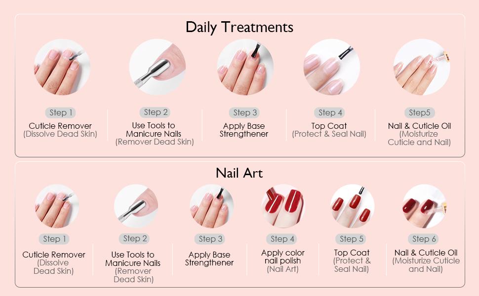 nail cuticle oil kit