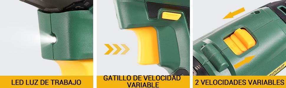 Taladro Batería