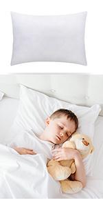 White Pillow Insert for Kids