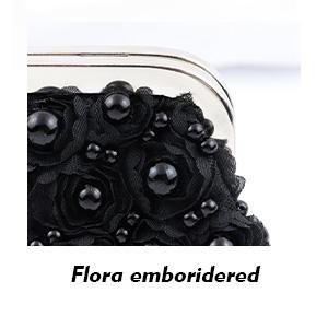 Flora emboridered