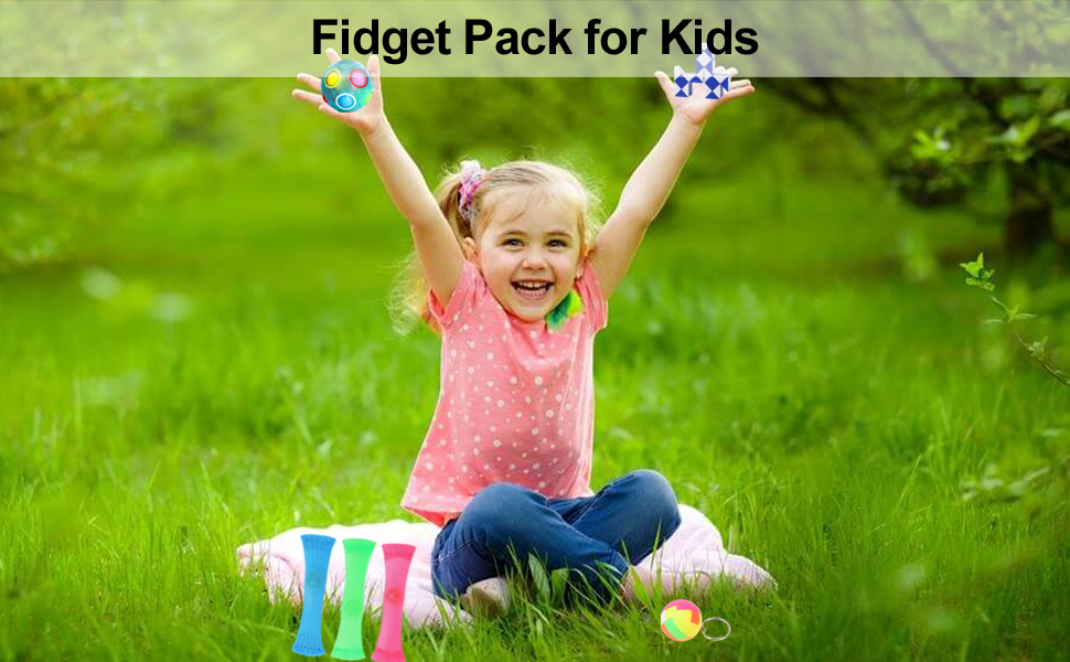 happy time for kids with fidgets with her for girls