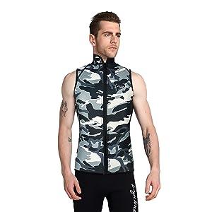 fitness suit vest tops wet suits men women diving suit tops neoprene vest