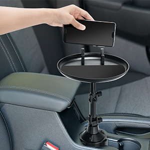 New car cup holder tray expander.