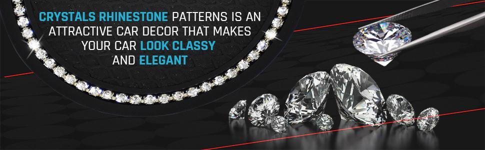 Crystal Rhinestone Patterns is an attractive car decor