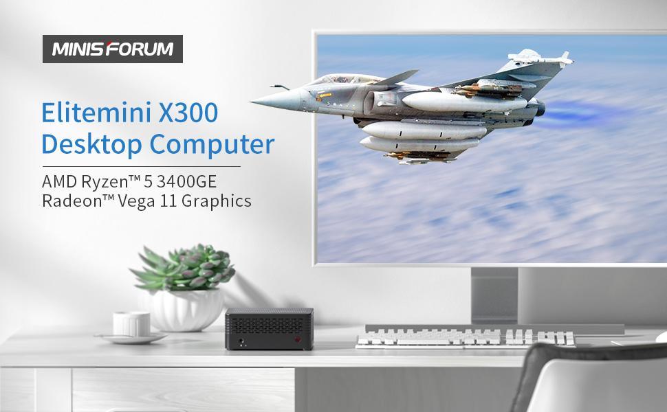 X300 ryzen 5 3400ge