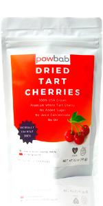 powbab Dried Tart Cherries