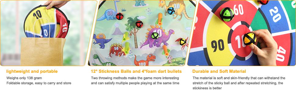 Kids Dart Board Game
