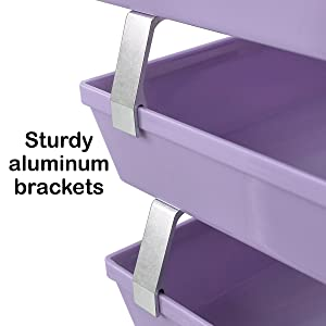 Brackets for unmatched durability and maximum stability.