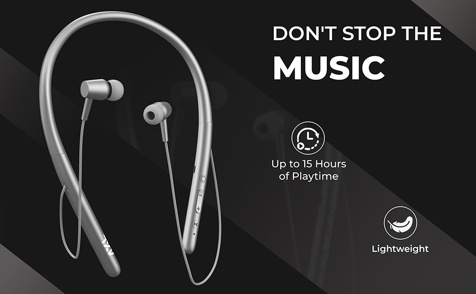 AXL ABN02 Bluetooth in-Ear Neckband with Magnetic Earbuds