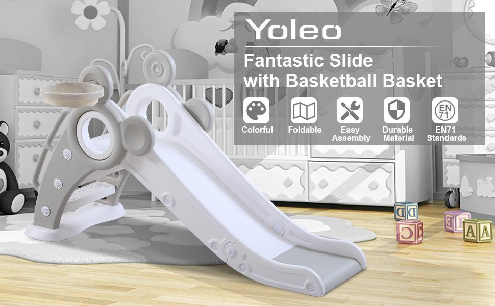 Yoleo slide for kids