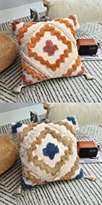Woven Tufted Pillow