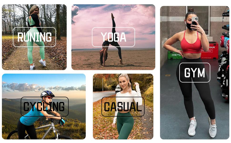 Yoga pants for Runing Yoga Cycling Casual GYM
