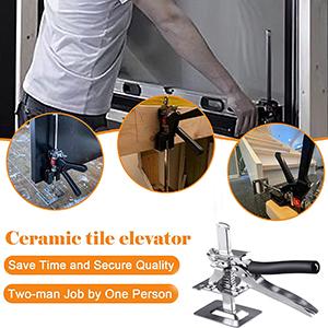 Door panel lifter Cabinet jack