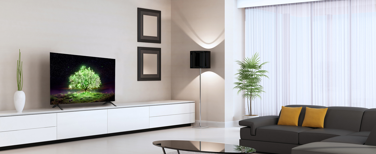 OLED A1 Lifestyle image living room