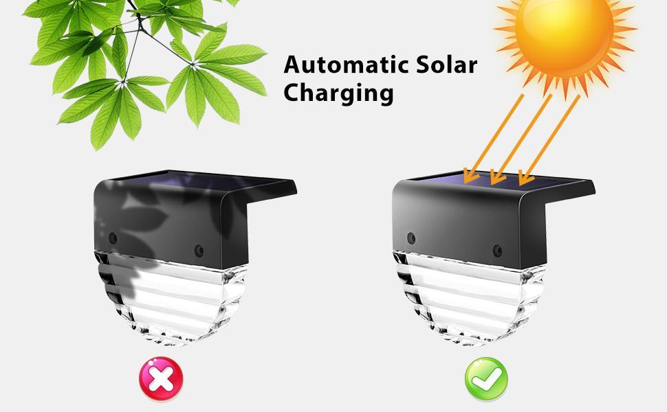 Waterproof Solar Charging Step Light