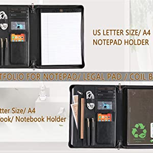 Notepad and Notebook Holder