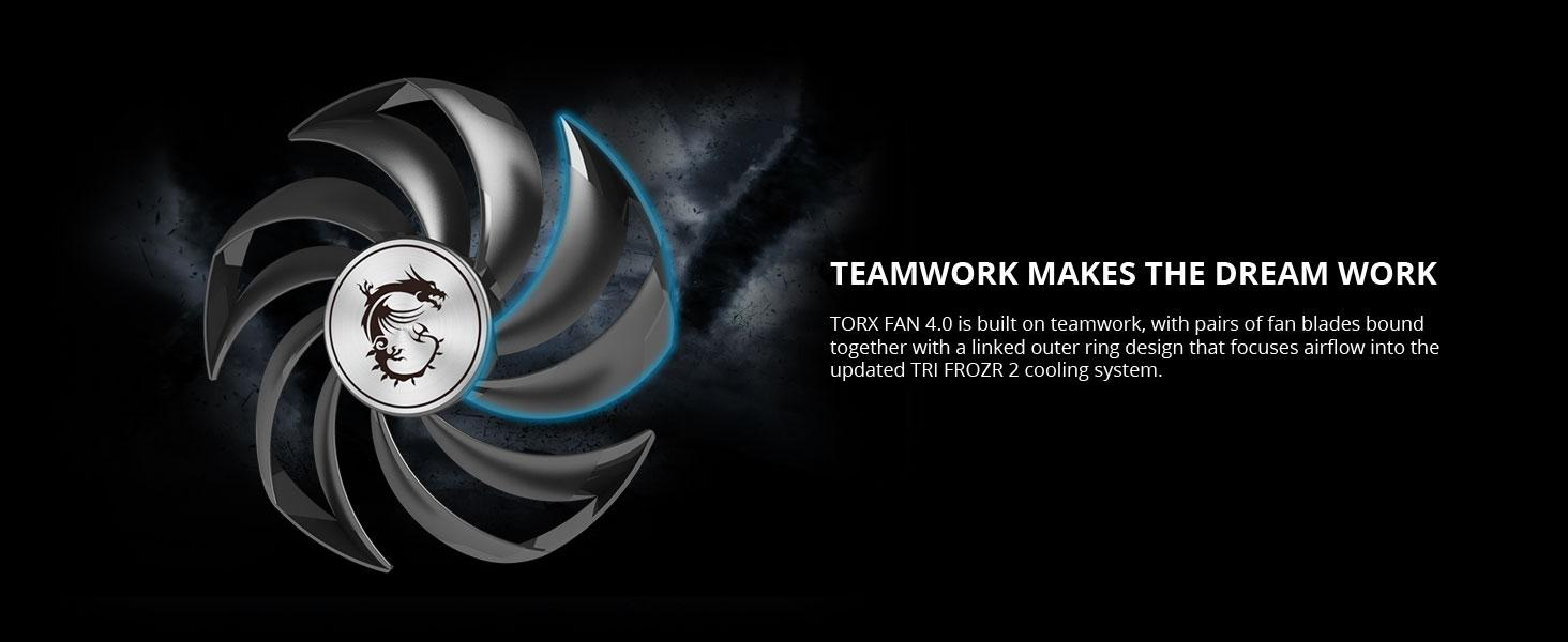 torx fan 4.0 linked ring focus airflow