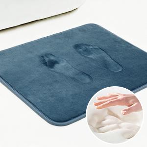 SHIMAKYO soft memory foam bath rug
