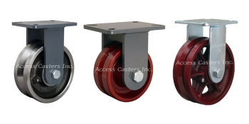 Vgroove Casters