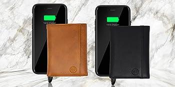Power Bank Tri Fold Wallet