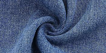 no-elastic denim fabric
