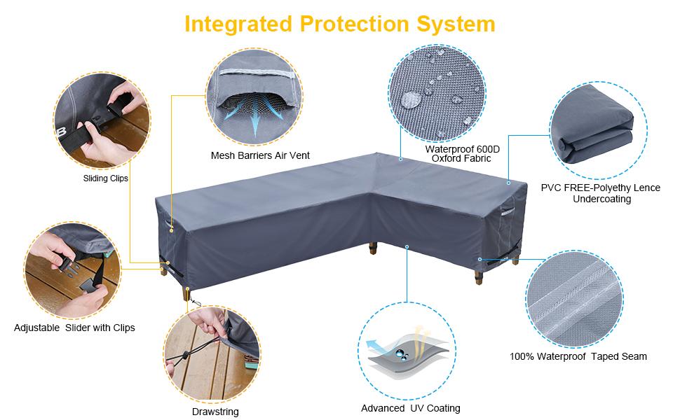 outdoor sofa covers waterproof