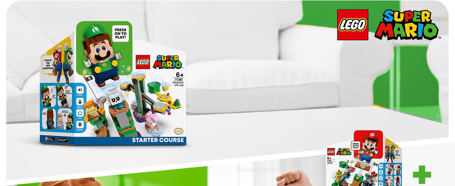 Lego Mario Luigi Starter Course - Package Ad