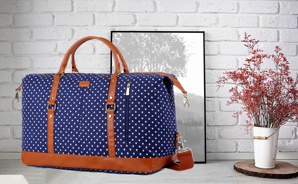 Damen-Reisetasche mit Polke Dot