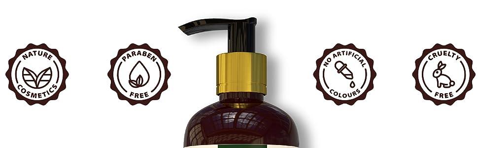 Dharishah Shampoo Features