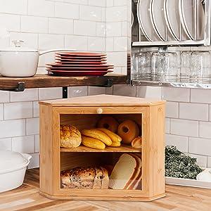 Corner Bread Box - More than Just a Bread Box