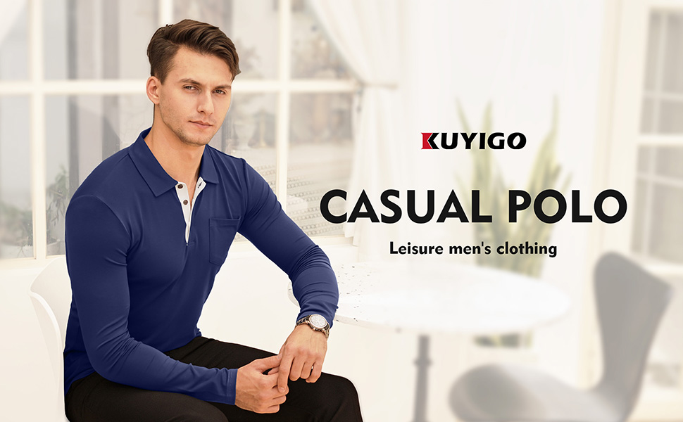 Polo t-shirts for men are timeless fashion essential for every w