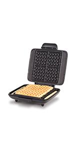 Waffle Maker, No Mess Waffle, No Drip, Full Size Waffle