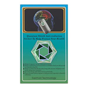 Anti Radiation EMF sticker to protect your health