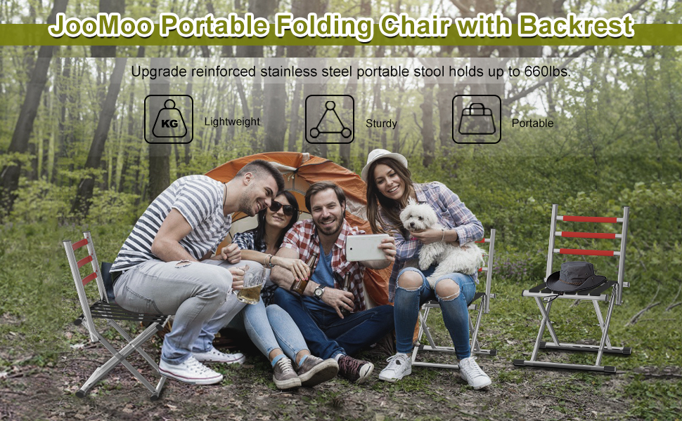 outdoor folding camping chair for adults