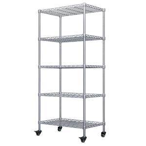 5-shelf chrome