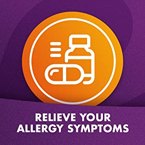 Allergy med that helps with headaches, sinus pressure and congestion.