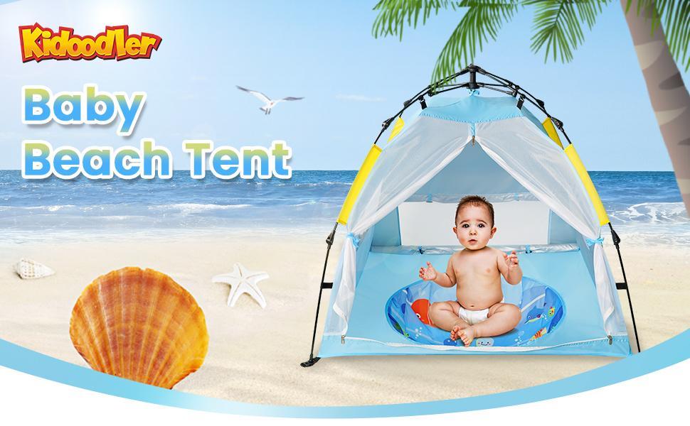 Kidooler baby beach tent