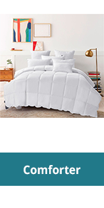 down and feather comforter