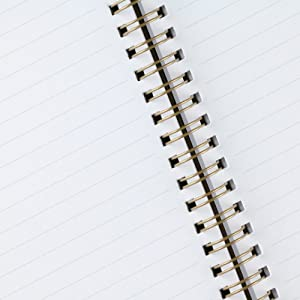 Ruled high-quality notebook journal paper