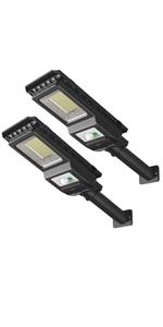 1000LM 156 LEDs Solar Powered Motion Sensor Light Outdoor