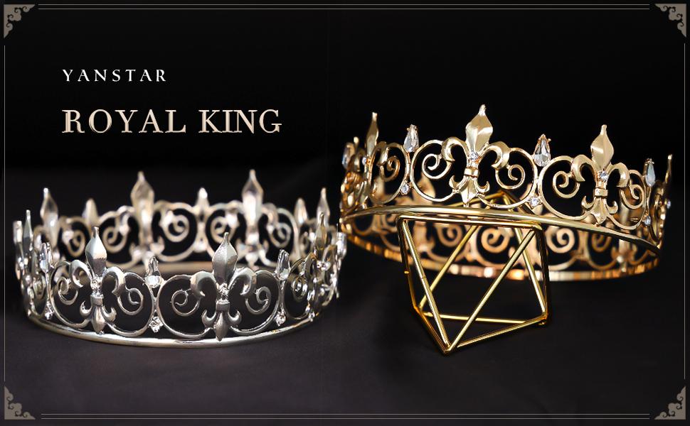 king crowns for men