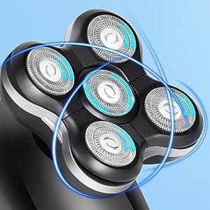 5D floating shaver
