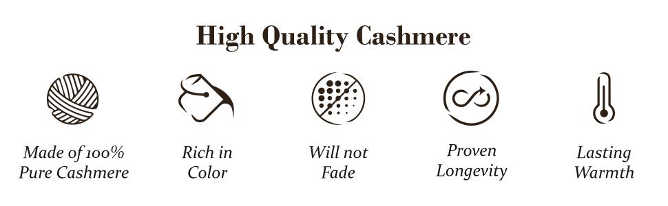 High quality cashmere