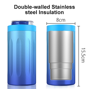Double-walled Stainless Steel Insulation
