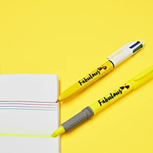 BIC fabulous gift stationery set for kids present