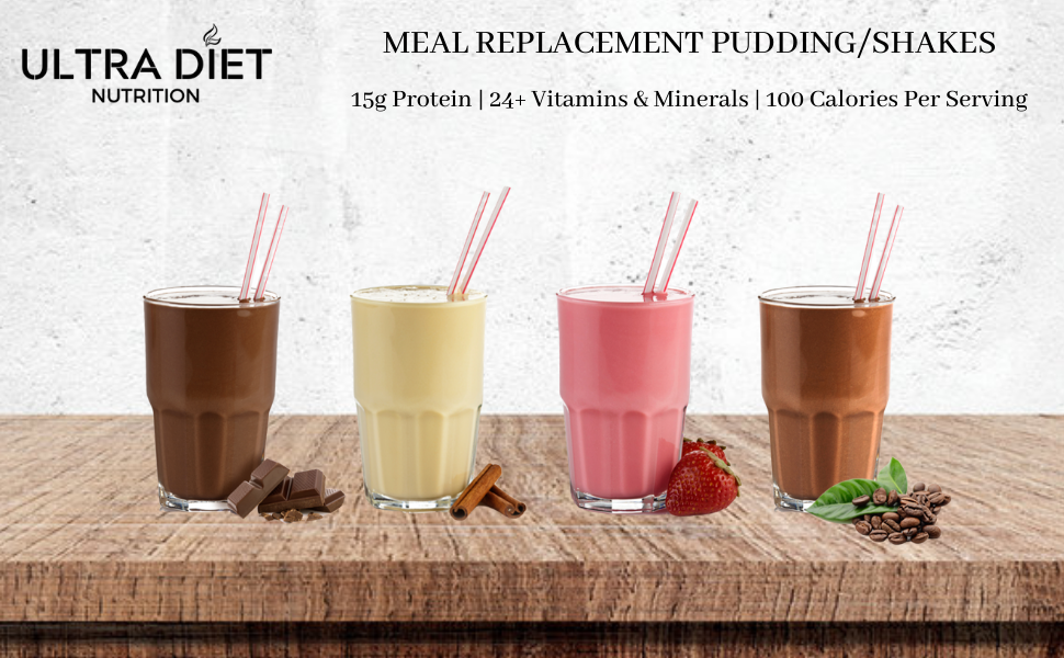 Meal Replacement Pudding Shakes