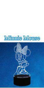 Veilleuse Minnie 3D